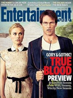 True Blood: Anna Paquin & Stephen Moyer