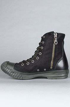 The only kind of Chucks I might ever want to wear. (The Chuck Taylor All Star Bosey Boot in Black)