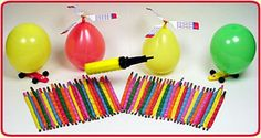 My primary kids love using Rocket Balloons. When we are reviewing songs, the stronger they sing the more I inflate the balloon. At the end of the song, I release the balloon. The children sing REALLY well and have a lot of fun with this activity. Good for weeks when it is hard to get the kids to focus!