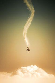 plane down