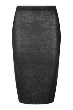 Collectif Polly Vegas Pencil Rock Black  Glitter