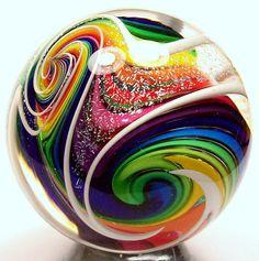 Eddie Seese Glass Marble
