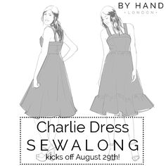 The Charlie Dress Sewalong kicks off soon! – By Hand London By Hand London, Block Of The Month, Diy Clothes, That Look, Indie, Kicks, Aurora Sleeping Beauty, Designers, Quilt