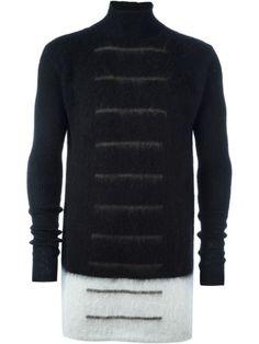RICK OWENS Gestreifter Pullover. #rickowens #cloth #pullover