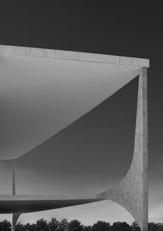 Palácio do Planalto, Oscar Niemeyer, Brasília 1958