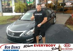 Congratulations to Brandon Smith on your #Nissan #Altima purchase from Joe Prosch at Bob Dance KIA! #NewCar