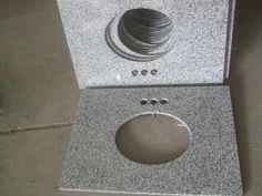 Staraok hospitality bathroom vanity granite tops -Luna Grey granite Granite Tops, Hospitality, Countertops, Vanity, Bathroom, Grey, Counter Tops, Painted Makeup Vanity, Washroom