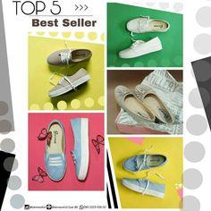 Here we go.. Top 5 BEST SELLER 2017!! by @eenvoud.id ini wajib kamu punya... MUST HAVE!!!  . click hash tag untuk detail produknya ya.. 1. Mahira White sneakers #eenvoudMWT . 2. Mahira Ivory sneakers #eenvoudMIV . 3. Basma Baby Blue slip on shoes #eenvoudBBB . 4. Shafiyyah Ivory Flat shoes #eenvoudSIV . 5. Mahira Baby Blue sneakers #eenvoudMBB . . . buat kamu yang belum punya koleksi #bestseller dari @eenvoud.id yuk.. buruan order!! banyak juga pilihan warna & design yang super cute & simple…