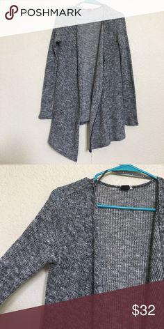 Volcom high/low sweater Grey Volcom sweater Volcom Sweaters Cardigans