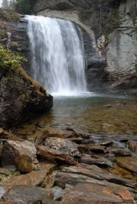 Looking glass water fall