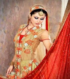 Indian Bridal- Touch of Red!