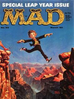 Cover for MAD (EC 1952 serie) #53 - MARCH 1960