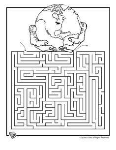 Earth Day Printable Mazes earth-day-maze-3 – Classroom Jr.
