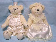 メモリーベア完成品(クリーム)>シェリーマリエウェルカムドールコーナー http://www.tedukuri-wedding.com/mall/bear/kansei/memorial_cream.html
