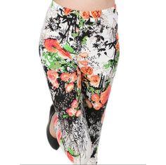 Buy Vevo Floral Legging by SHIV SYNTHETICS, on Paytm, Price: Rs.275?utm_medium=pintrest