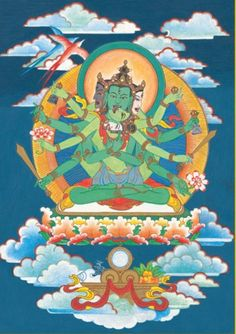 The mantra recitation practice of Buddha Samayavajra mainly purifies degenerated commitments and vows. This practice is one of the nine distant preliminary practices for engaging in a successful 'close retreat' of Heruka or Vajrayogini.