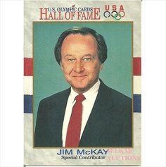 Impel 1991 Hockey Trading Card #77 Jim McKay USA Olympics Hall of Fame on eBid Canada $1.50