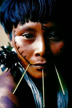 Yanomami Woman . Amazon Rainforest
