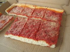 A unique Philly treat, the Tomato Pie
