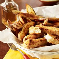 Baked Fish and Chips - this is something I will make :)