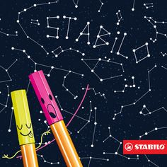 Está escrito nas estrelas: a STABILO deixa a sua vida mais colorida! #VidaColoridaSTABILO