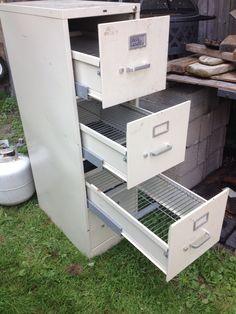 File cabinet smoker