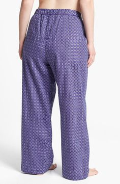 Shimera Pattern Lounge Pants (Plus Size) | womenswear | womens plus size lounge pants | style   fashion | wantering http://www.wantering.com/womens-clothing-item/shimera-pattern-lounge-pants-plus-size/af15e/