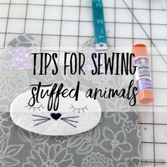how to sew a stuffed animal - tips for sewing softies Sewing Stuffed Animals, Stuffed Animal Patterns, Sewing Projects For Kids, Sewing For Kids, Felt Projects, Couture Sewing Techniques, Little Pet Shop Toys, Doll Patterns, Bear Patterns