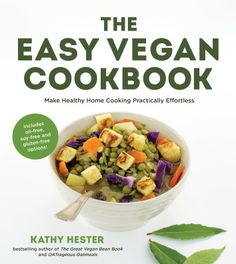 Enter to win a copy of Kathy Hester's The Easy Vegan Cookbook!