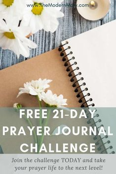 Take the FREE Prayer Journal Challenge to give your prayer life a jump-start today. Take your relationship with Christ to a new level. Learn what this prayer journal thing is all about.