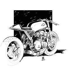Ready? Yamaha XV950 Cafe Racer by Moto di Ferro. Muy guapa esta Yamaha con un cambio brutal respecto a la original. El colín ha quedado de miedo | caferacerpasion.com