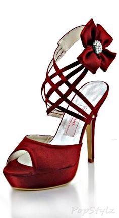 Elegantpark Strappy Satin Rhinestone Sandals