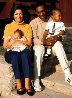 Bill Cosby and his family