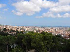 Vistas de Barcelona desde el Parc Güell