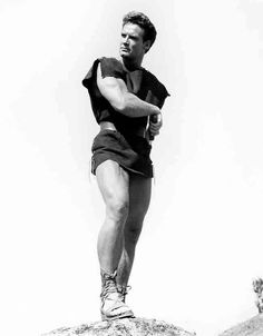 This is an studio copy photo. Steve Reeves, Old Hollywood Stars, Vintage Hollywood, Man Anatomy, Films Cinema, Disney Hercules, Black White, Classic Films, Attractive Men