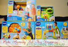 A Modern Day Fairy Tale: Make Learning Fun This Christmas: A Vtech Learning Toys Giveaway