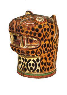 Kero (vaso ceremonial), 1500 d.C. Imperio Inca
