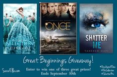 Good, bad, and ugly endings PLUS a giveaway! #ShatterMe #OnceUponATime #TheSelection