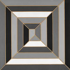"""""""What you see is what you see"""" Frank Stella Untitled, 1966"""