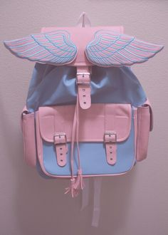 Pastel backpack