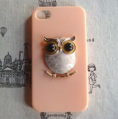 Fancy - Steampunk Owl Hard Case For Apple IPhone 4 Case IPhone 4s Case Cover on Luulla