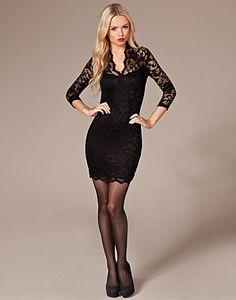 Princess Lace Dress outfit - John Zack - Zwart - NELLY.COM Mode online