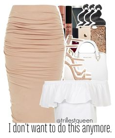 """""""09-22-2016."""" by trillestqueen ❤ liked on Polyvore featuring Marc Jacobs, NARS Cosmetics, NYX, MICHAEL Michael Kors, Giuseppe Zanotti and Topshop"""