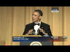 """President Obama at 2013 White House Correspondents' Dinner (C-SPAN)"" - The President was funnier than Conan. #AllIDoIsWin #ComedianInChief"