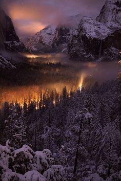 Lights in Yosemite by Phil Hawkins :)