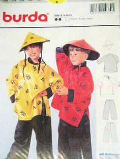 Burda 4370 Child's Costume Pattern, Oriental, Japanese, Chinese Outfit, Sizes 4, 5, 6, 7, 8 Burda http://www.amazon.com/dp/B009NMZQFK/ref=cm_sw_r_pi_dp_KhMcvb0WZGSQA