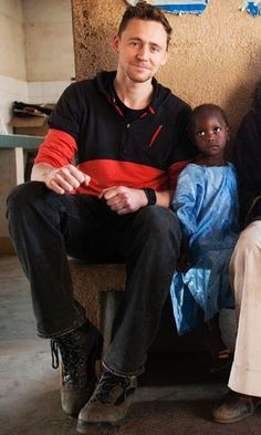 Tom Hiddleston Round up | UNICEF UK - Guinea, Africa (January 22 - 31, 2013)<--awesome, just awesome