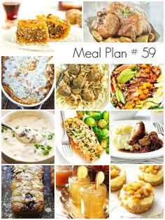 Weekly Meal Plan #59: Delicious recipes for the whole family - Ioanna's Notebook