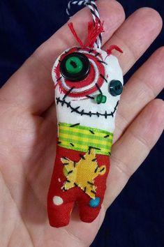 Junker Jane styled ornaments by LesliesHappyHeart! Love them!