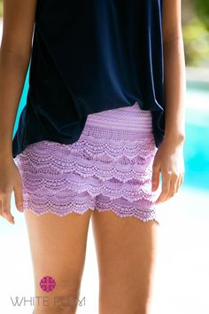 Lace Shorts | 6 Colors + 4 Sizes!